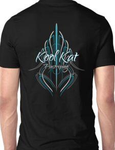 Kool Kat Pinstriping (Blue) Unisex T-Shirt