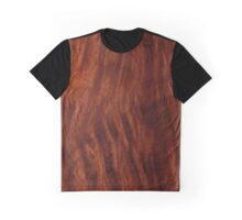 Beautiful Unique mahogany red wood veneer design Graphic T-Shirt