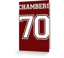 Justin Chambers '70 Greeting Card