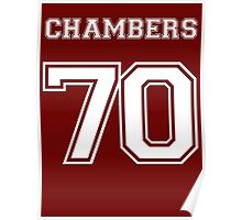 Justin Chambers '70 Poster