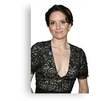 tina fey transparent. Canvas Print