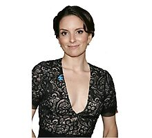 tina fey transparent. Photographic Print