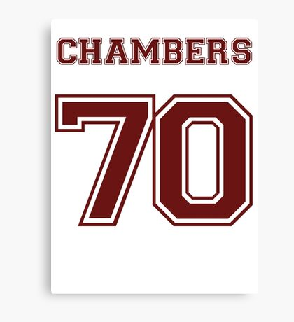 Justin Chambers '70 Canvas Print