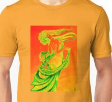 Mucha style drawing in colours Unisex T-Shirt