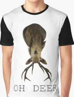 OH DEER Graphic T-Shirt