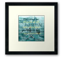 Truthwitch - Favorite Books Framed Print