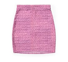 handknitted Mini Skirt