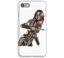 The Elder Scrolls- Skyrim- Aela The Huntress iPhone Case/Skin