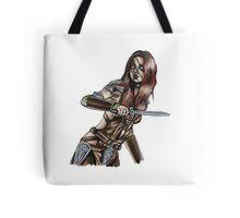 The Elder Scrolls- Skyrim- Aela The Huntress Tote Bag