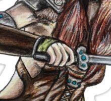 The Elder Scrolls- Skyrim- Aela The Huntress Sticker