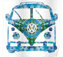 VW Tie Dye Poster