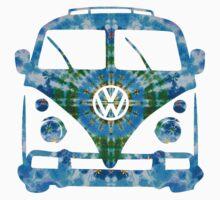 VW Tie Dye One Piece - Long Sleeve