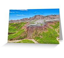 Winding Dry River Greeting Card