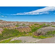 Colorful Badlands Photographic Print