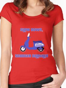 Scooter Brother Women's Fitted Scoop T-Shirt