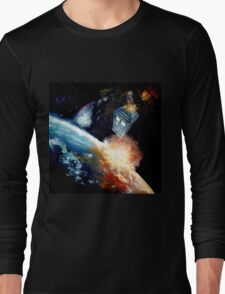 Tardis in space Long Sleeve T-Shirt