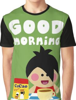 Good Morning Graphic T-Shirt
