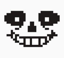 Sans face <3 One Piece - Long Sleeve