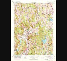 USGS TOPO Map Connecticut CT Woodbury 461083 1955 24000 Unisex T-Shirt