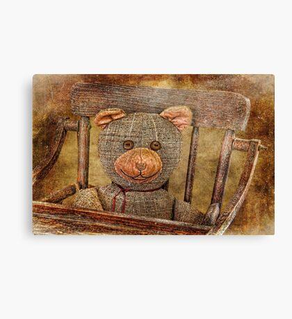 Vintage Teddy Canvas Print