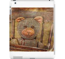 Vintage Teddy iPad Case/Skin
