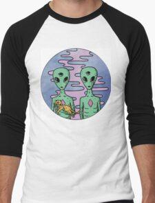 Alien Twins Men's Baseball ¾ T-Shirt
