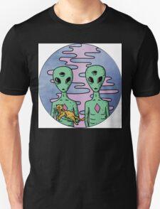 Alien Twins Unisex T-Shirt