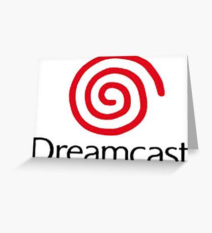 dreamcast logo Greeting Card