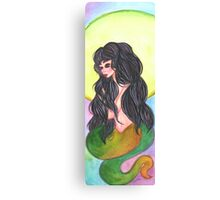 Serpent Girl Canvas Print