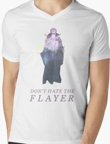 Don't Hate the Flayer Mens V-Neck T-Shirt