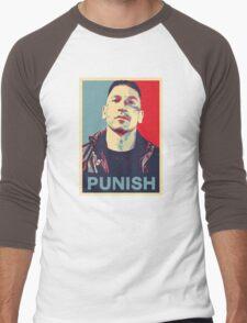 Punisher for President Men's Baseball ¾ T-Shirt