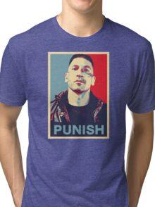Punisher for President Tri-blend T-Shirt