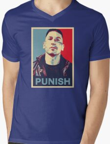 Punisher for President Mens V-Neck T-Shirt