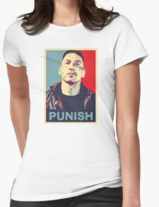 Punisher for President Womens Fitted T-Shirt