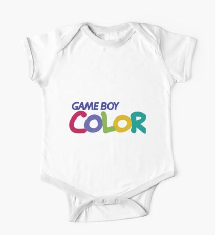 gameboy color logo One Piece - Short Sleeve