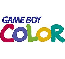 gameboy color logo Photographic Print