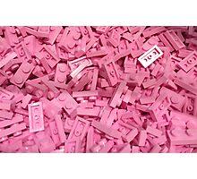 Pink Lego Ocean Photographic Print