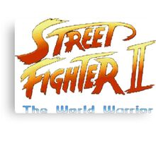 street fighters logo Canvas Print