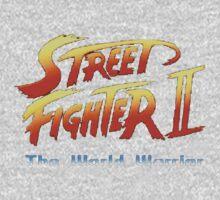 street fighters logo One Piece - Short Sleeve
