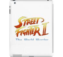street fighters logo iPad Case/Skin