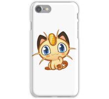 Meowth logo iPhone Case/Skin