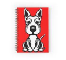 Big Head Dog  Spiral Notebook