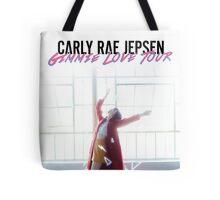 carly rae jepsen tour 2016 gimmie love white Tote Bag