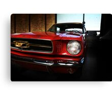 ford mustang classic car Canvas Print