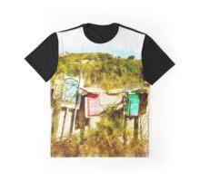 Arzachena: landscape with mailboxes Graphic T-Shirt
