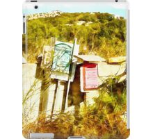Arzachena: landscape with mailboxes iPad Case/Skin