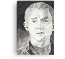 Martin Freeman as John Watson  Canvas Print
