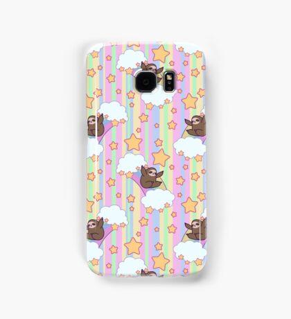 Rainbow Sloth Pattern Samsung Galaxy Case/Skin
