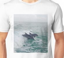 Dolphin's Surfing Unisex T-Shirt
