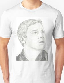 Martin Freeman as John Watson Unisex T-Shirt